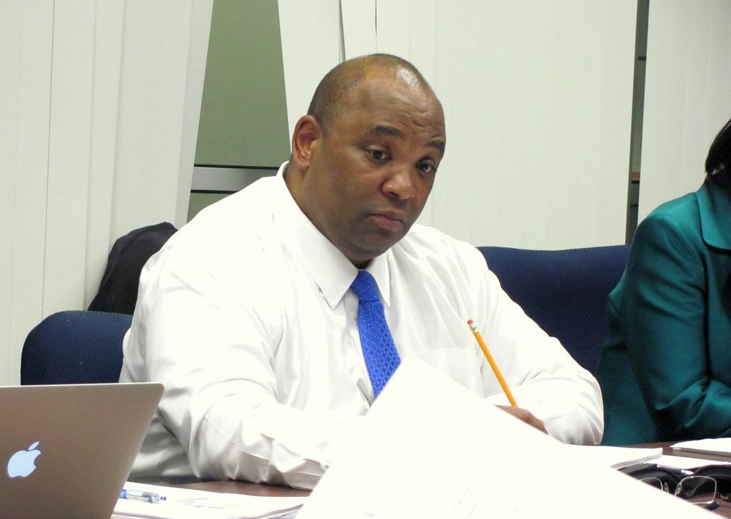 Finance Director Henry J. Raymond. (Photo by Mark Reutter)