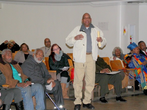 Taverns are hurting their communities by spawning loitering, drug-dealing, violent crime, over-served patrons and neighborhood blight, speakers at a recent Town Hall meeting said. (Photo by Fern Shen)