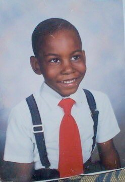 Deray Mckesson school photo from Rosemont Elementary School in Baltimore. (Posted by: @DeRay)