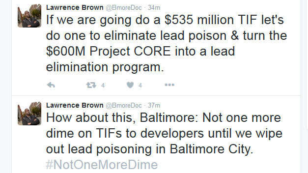 @bmoredoc on port covington TIF