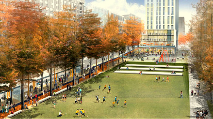 rendering of Eager Park