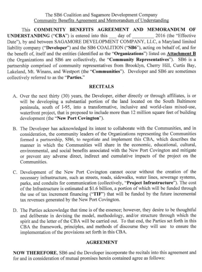 Page 1 SB6 Memorandum of Understanding. (Lawyers Committee for Civil Rights)