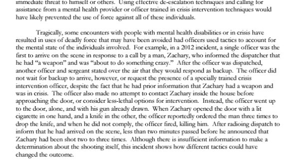 DOJ Zachary Justice Department Investigation of the Baltimore Police Department - pg 84