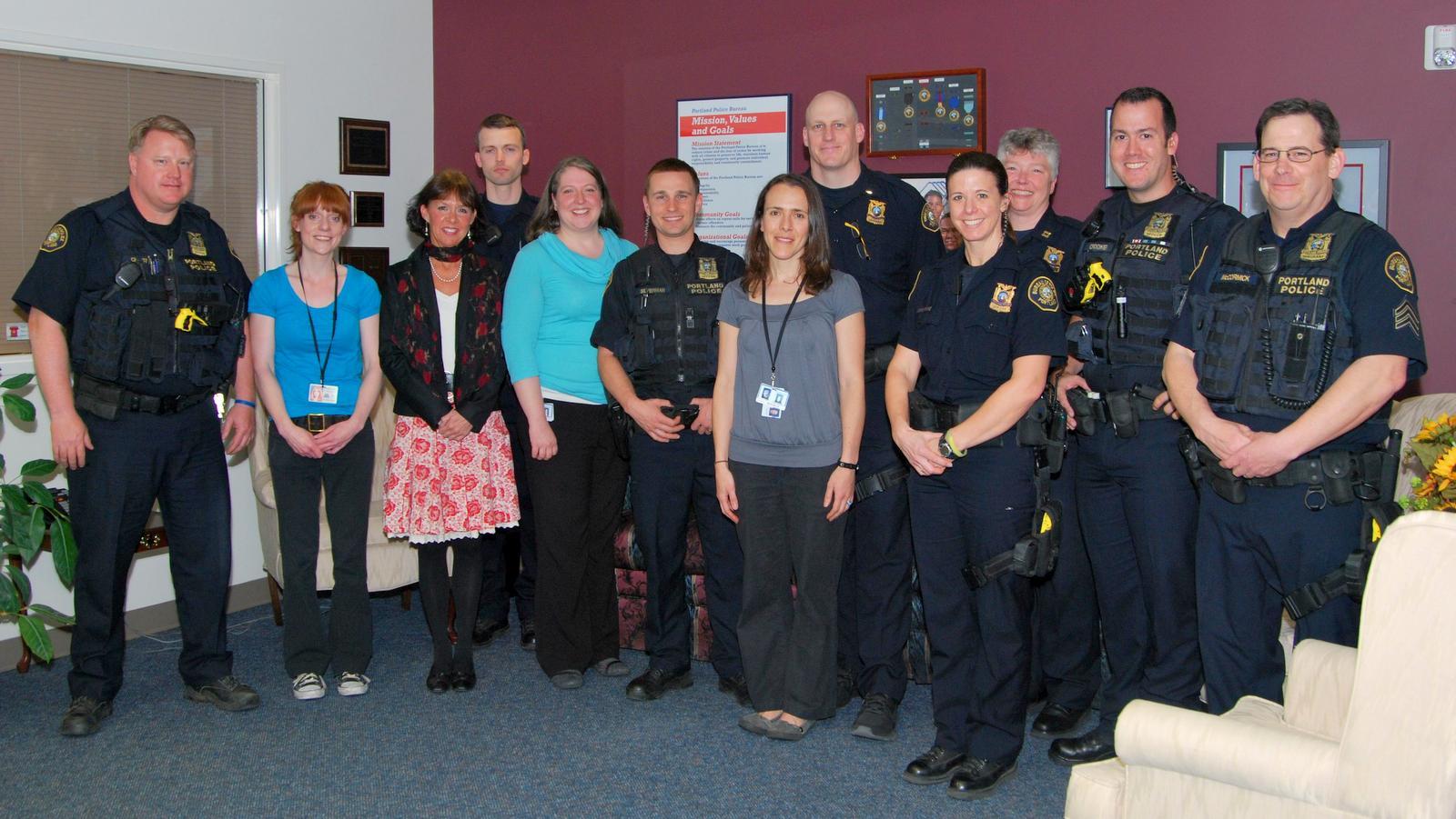 Portland Oregon Police Bureau in 2013 announcing the launch of its Behavioral Health Unit. (portlandoregon.gov)