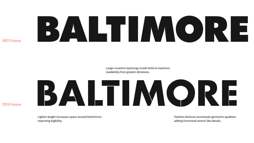 From Baltimore Gateway Signage proposal, Ashton Design.