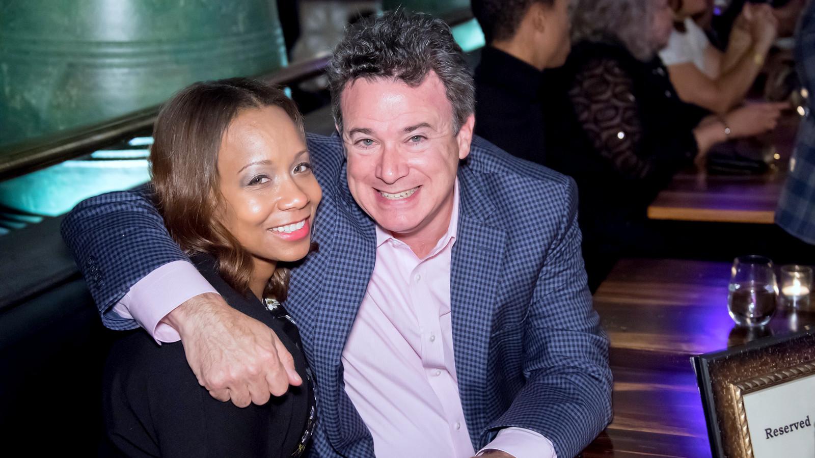 Lisa Harris Jones and Jon Laria