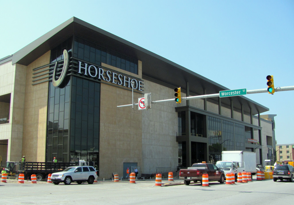 Horseshoe Casino prior to its opening in August 2014. (Mark Reutter)