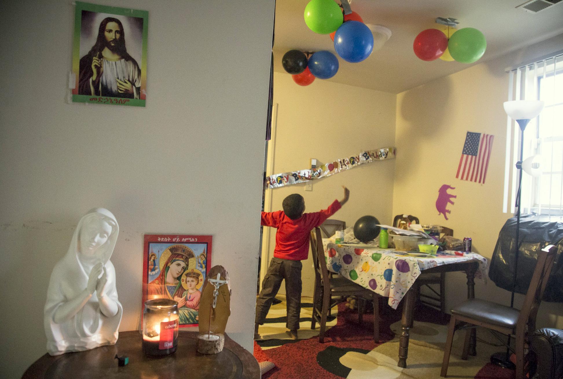 Zaid Degol, like roughly half the population of Eritrea, is Christian. (Jennifer Bishop)