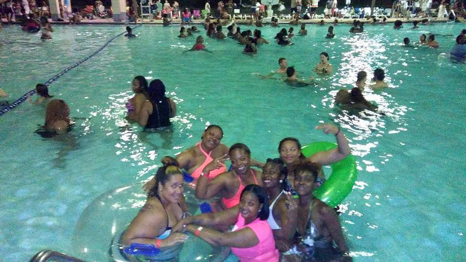 Swimmers enjoying  Druid Hill Park pool last summer. (Facebook)