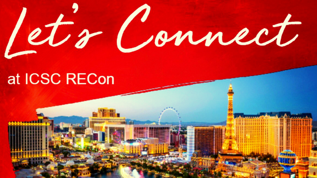An on-line ad by a retailer for this year's RECon convention in Las Vegas. ( JLL Retail)