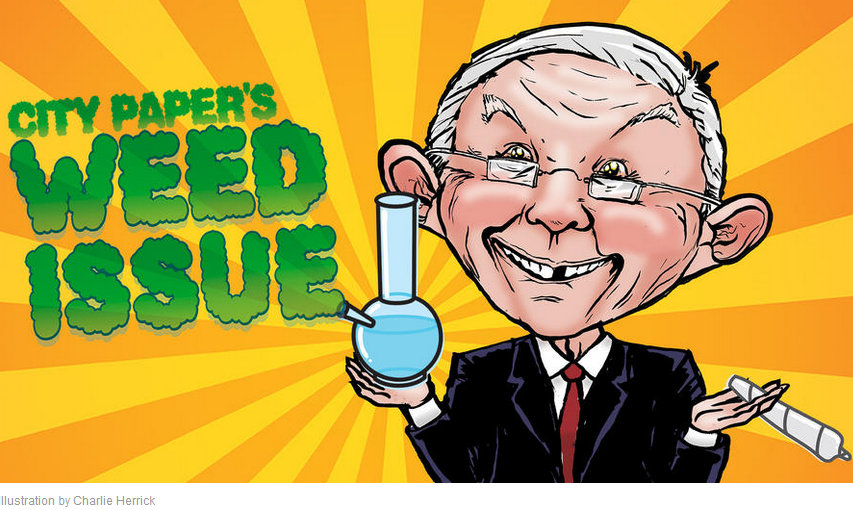 An annual tradition since 2014, City Paper devoted the whole issue to marijuana.