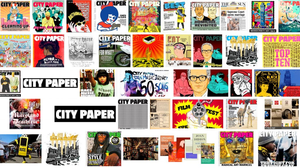 City Paper covers had wit and style.