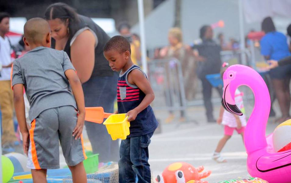 Baltimore's African American Festival is typically an all-ages event. (Christopher Ervin)