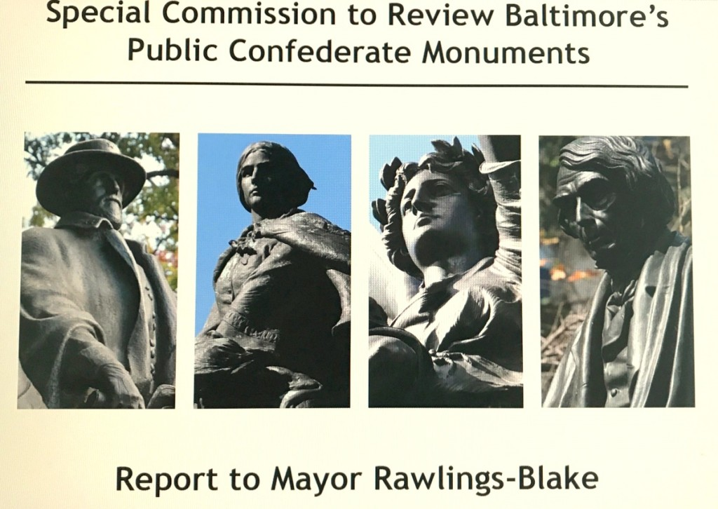 This task force report release last Augusst 16 was ignored by two mayors until this weekend's violent confrontation over a Confederate statue in Charlottesville.