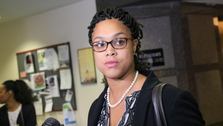 State's Attorney Marilyn Mosby . (Fern Shen)