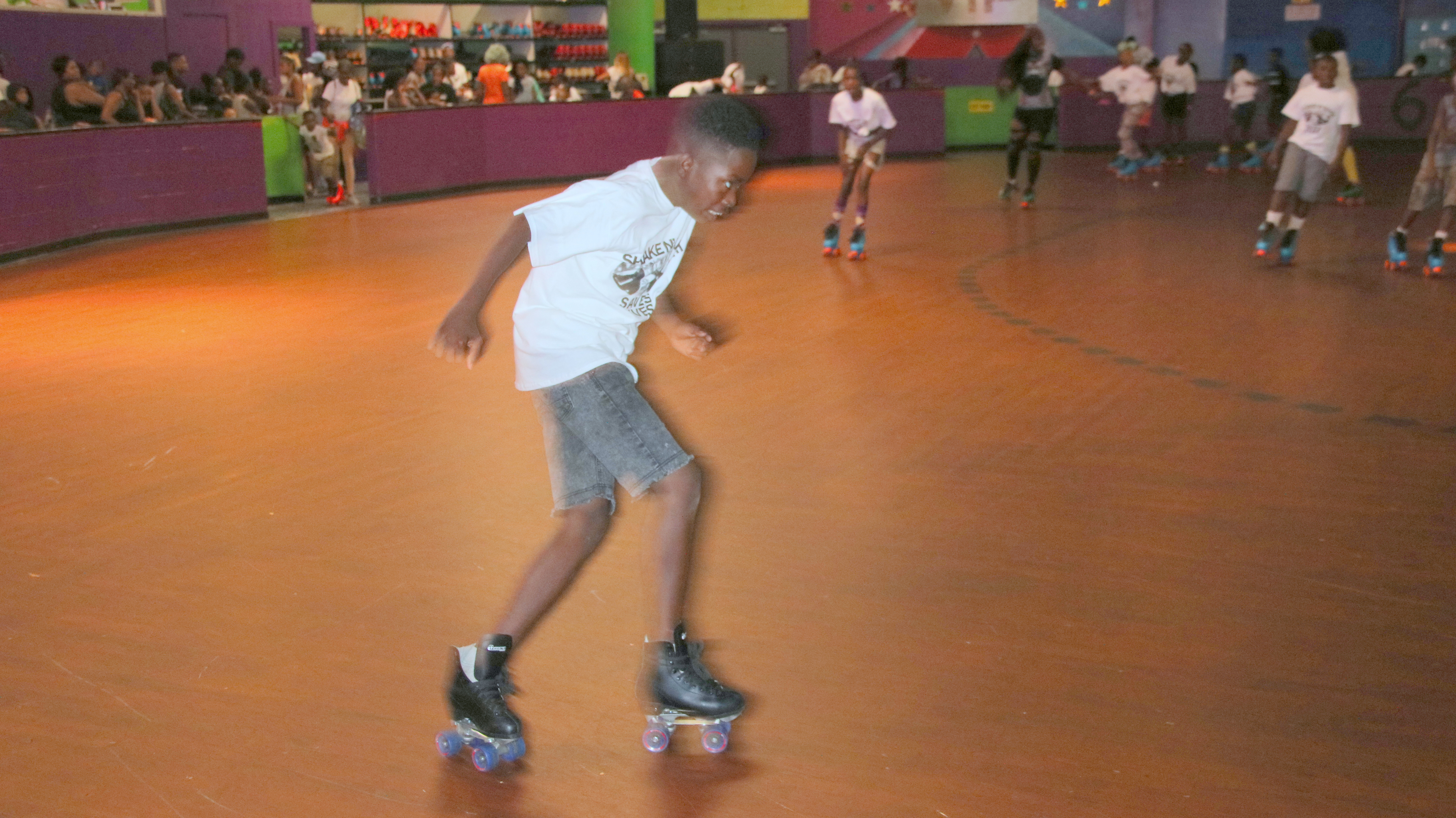 Skaters took their last spin at