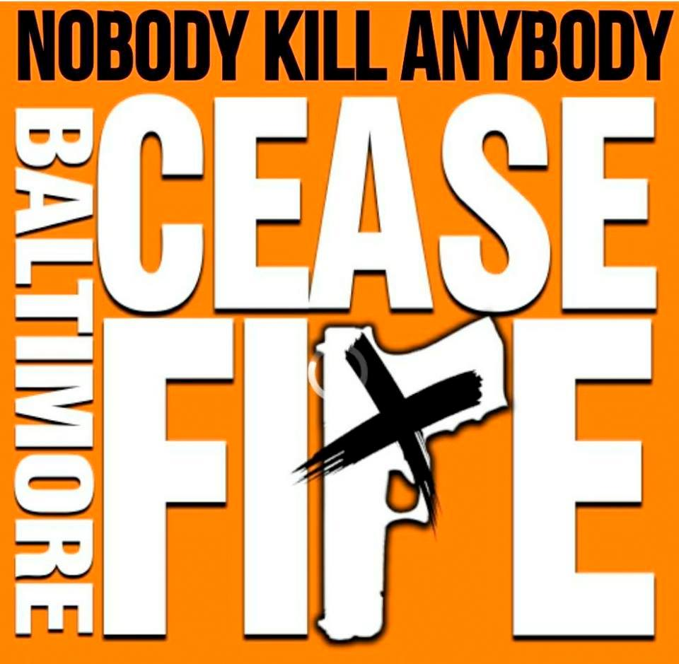 Volunteers passed out 20,000 fliers and 2,000 posters to alert the public to the latest Baltimore Ceasefire.