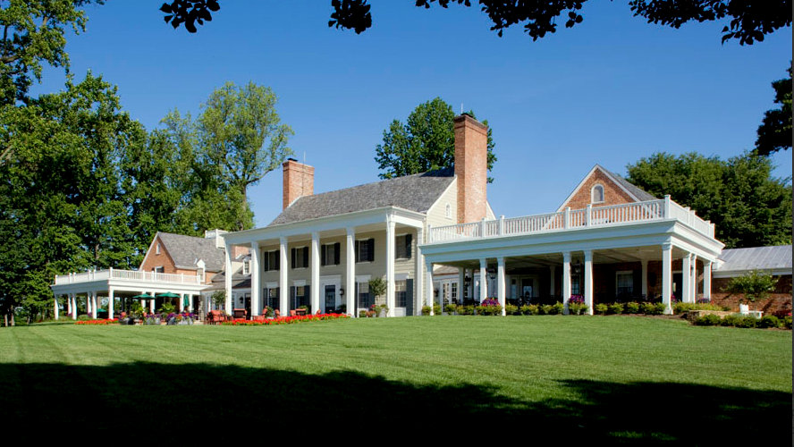Tuesday's soiree will be held in the restored 1800's clubhouse at the Caves Valley Golf Course, located about 15 miles north of City Hall. (penzabailey.com)