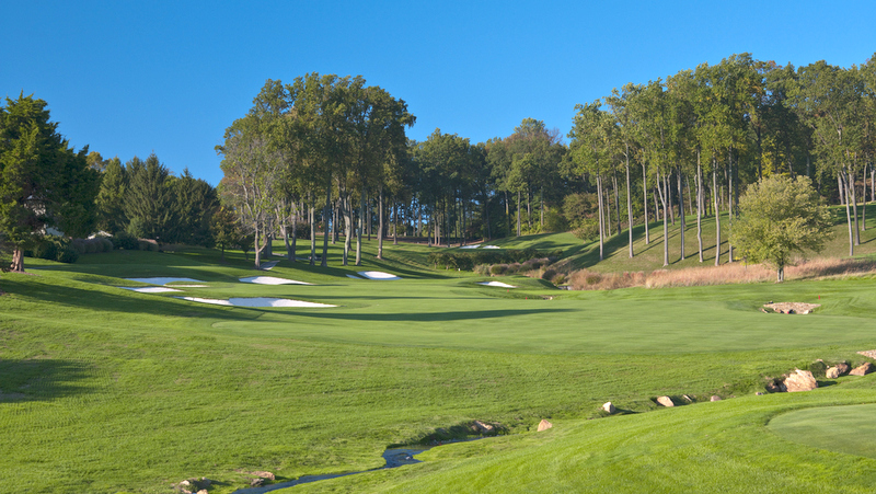 The 9th hole of the membership-only golf course on Bledon Road in Owings Mills. (Caves Valley GC)