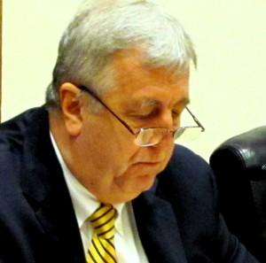 Southwest's veteran councilman Ed Reisinger is giving away more than he's collecting. (Mark Reutter)