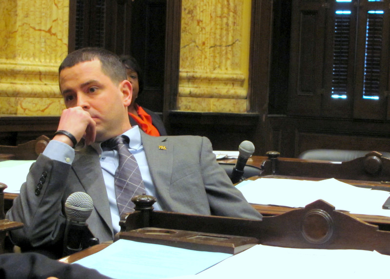 Eric Costello raised the most dough for his campaign committee among City Council members. He chairs the powerful Budget and Appropriations Committee. (Mark Reutter)