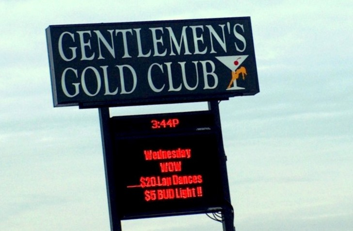 This strip club on Pulaski Highway, owned by Maurice