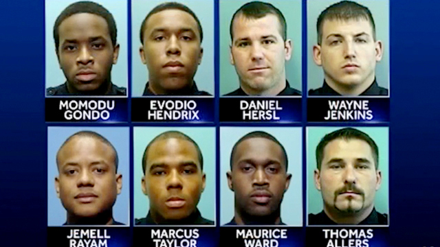 The Gun Trace Task Force co-defendants. (Brew file photo)