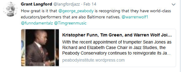 jazz twitter wolf green funn peabody