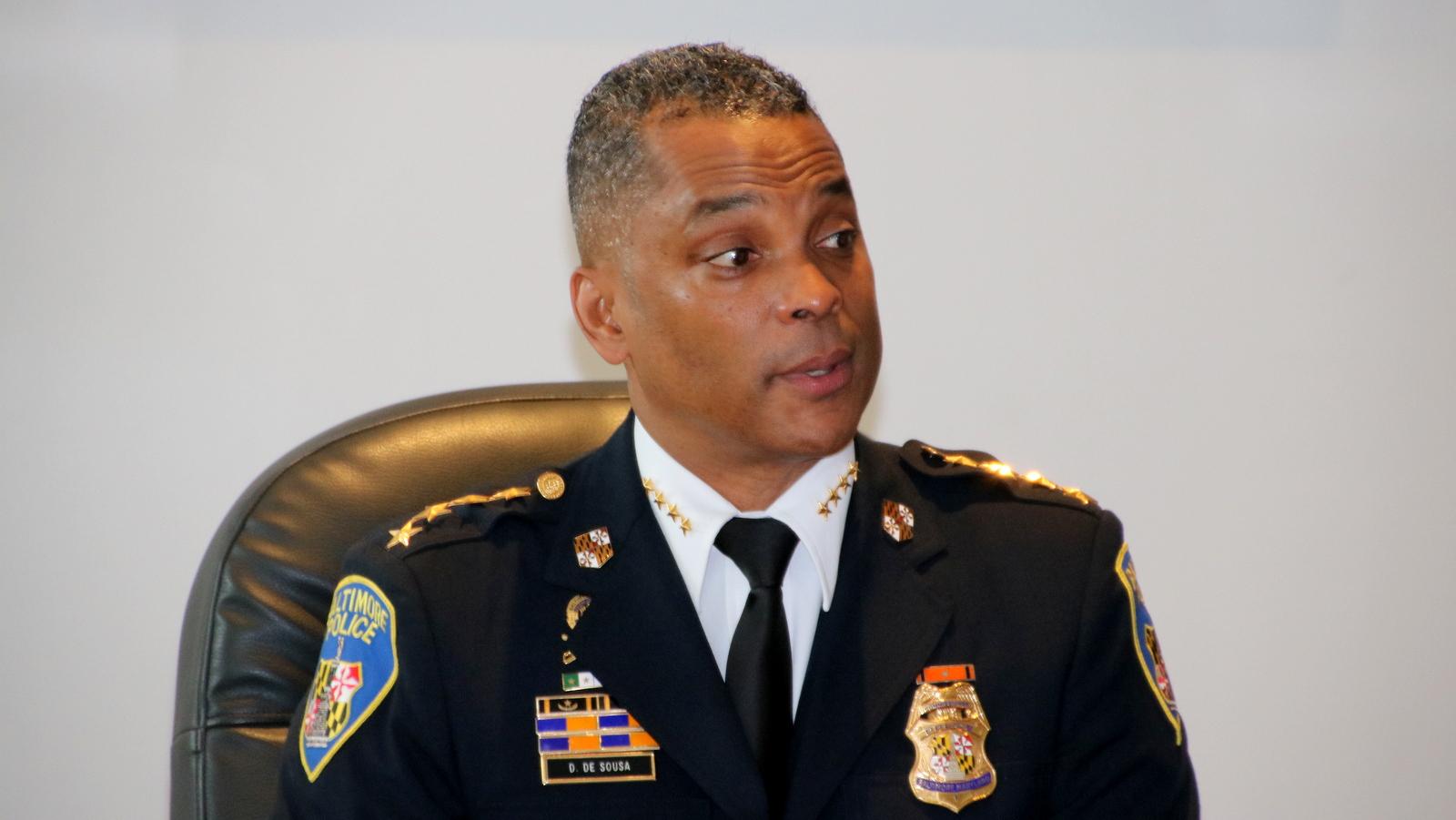 Commissioner Darryl De Sousa. (Fern Shen)