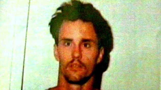 James Owens' mug shot in 1988. (WBAL)