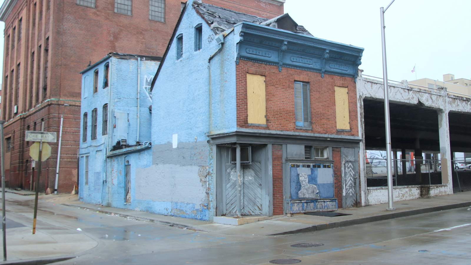 A new owner of the former Martick's Restaurant Francais on Mulberry Street says he has a food business lined up for the building on Baltimore's west side. (Fern Shen)