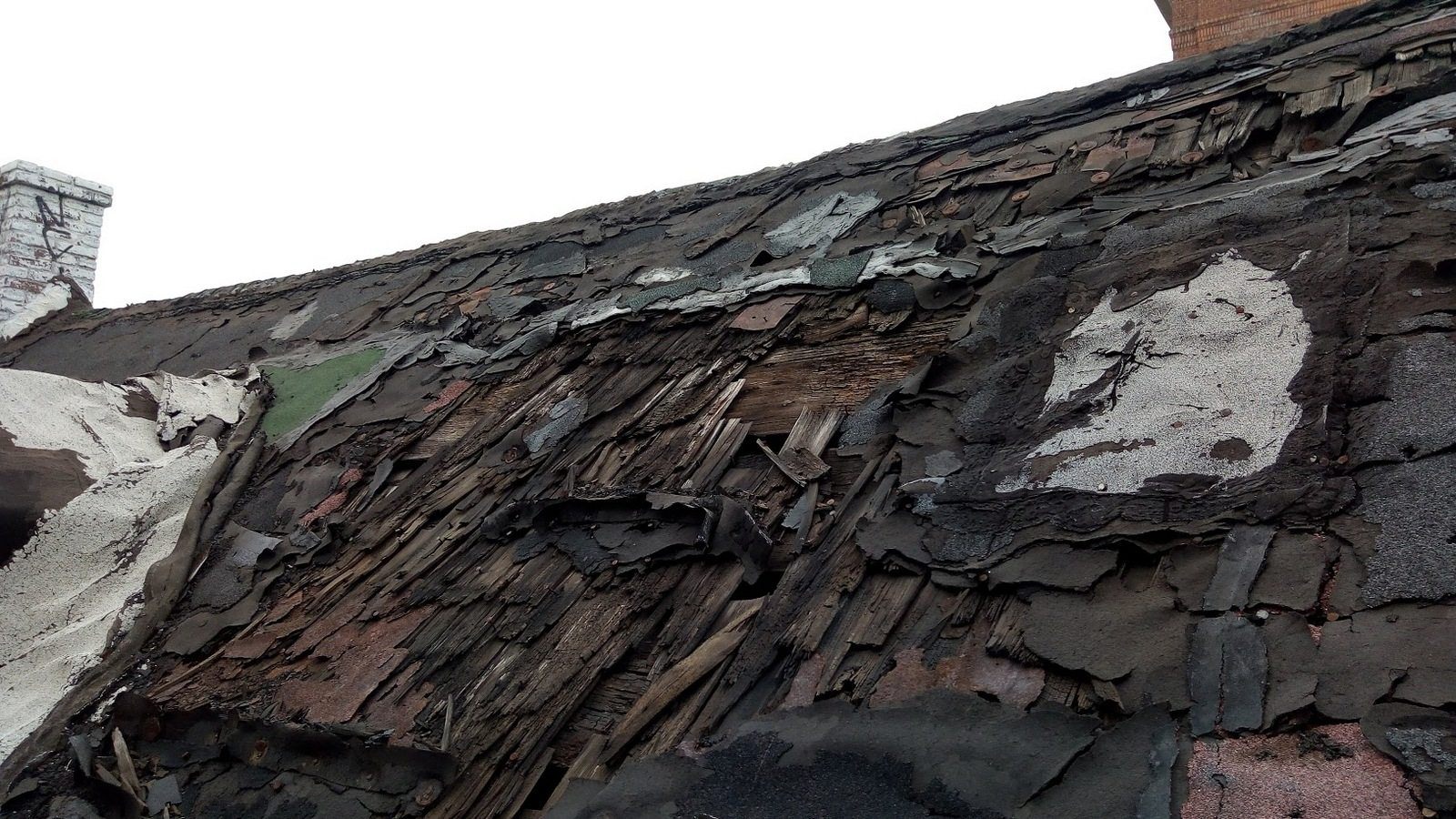 Roof of the x-year-old former speakeasy.