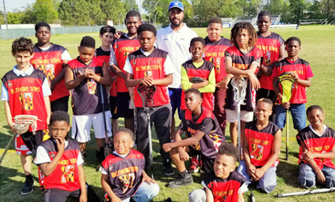 The Baltimore Terps offers recreational football, lacrosse, basketball and cheerleading for over 350 kids, ages 4-14. (Baltimore Terps Facebook)