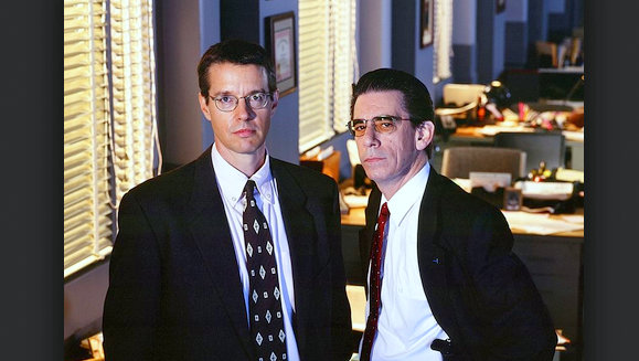 Richard Belzer and Kyle Secor played detectives John Munch and Tim Bayliss on