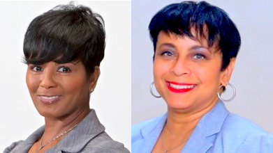 Mary Talley, former director of Human Resources who left in August, and Kim Morton, former chief of staff for mayor Pugh, who moved on in September. (City of Baltimore)