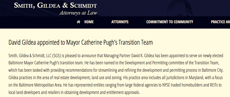 Gildea appointed to pugh team