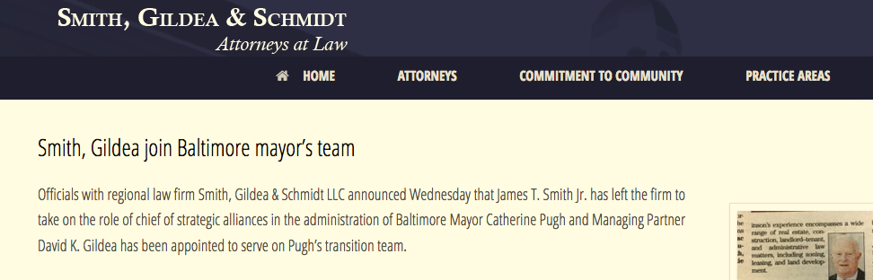 smith gildea join mayor's team1