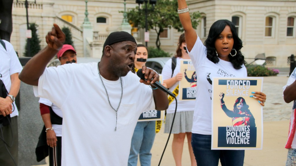 For the 272nd time, Tawanda Jones, the sister of Tyrone West, held a