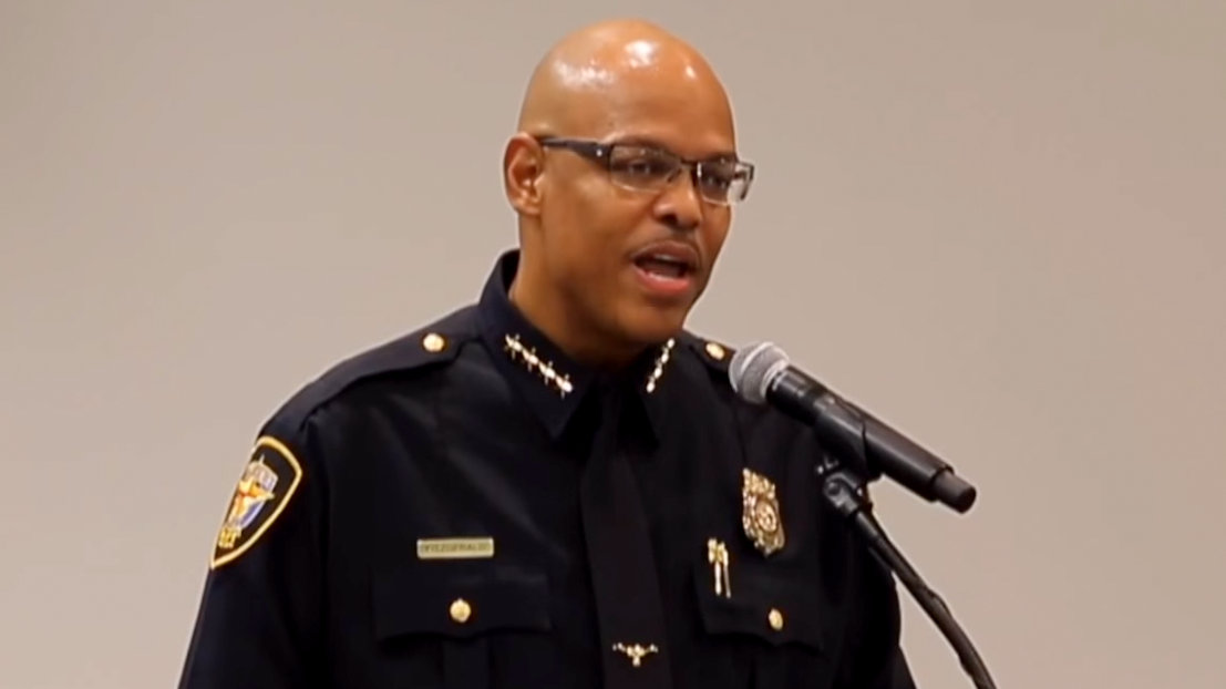 Fort Worth Police Chief Joel Fitzgerald, Mayor Pugh's chice for Baltimore police commissioner. (YouTube)