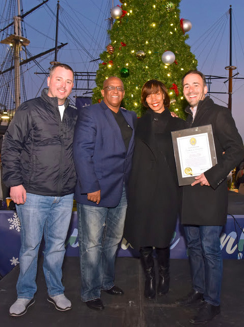 November 17, 2018 - Official Tree Lighting for the Christmas Village in Baltimore