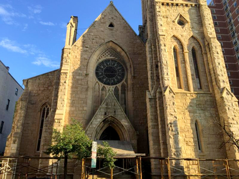 New Refuge Deliverance Cathedral was originally known as was originally known as Christ Protestant Episcopal Church. (RE/MAX)