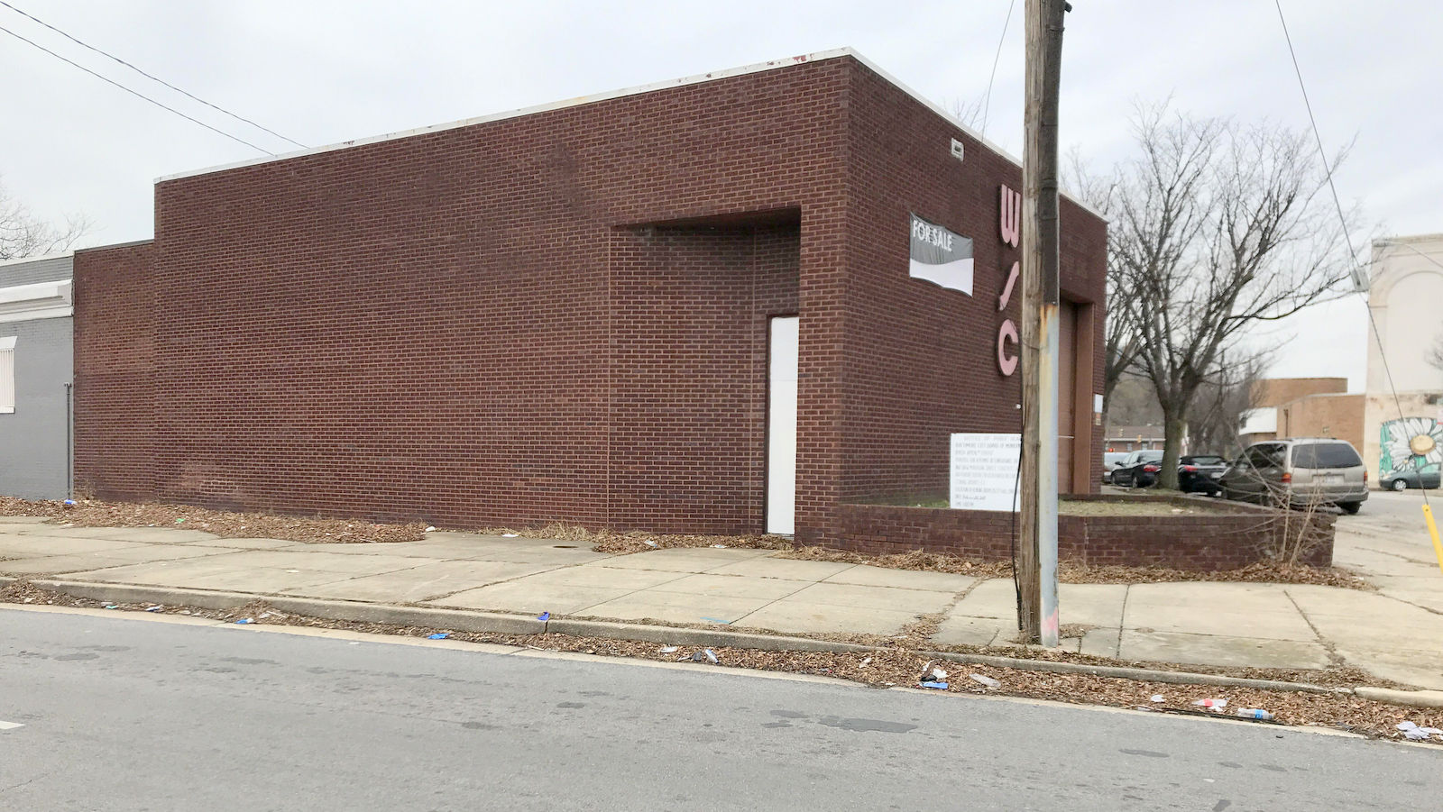 MedMark Treatment Centers is hoping to connect this building at 501 West Madison Street to an adjoining property on McCulloh Street. (Chase Hoffberger)