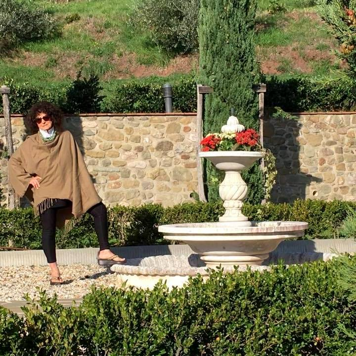 Dona Bartoli Lowrimore at Villa Torquato, 2017. (Family photo)