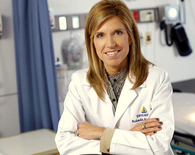 Redonda Miller, president and CEO of Johns Hopkins Hospital, contributed $2,000 to the $15,000 bundle of contributuons bundled by Hopkins administrators for Mayor Pugh. (Johns Hopkins Medicine)
