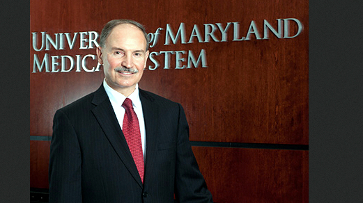 President and CEO Robert A. Chrencik has been a fixture at the University of Maryland Medical System since he helped form it 35 years ago. (bucknell.edu)