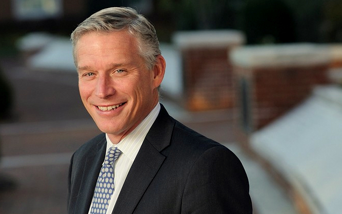 Another first-time giver: VP of Development and Alumni Affairs Fritz Schroeder. (hub.jhu.edu)