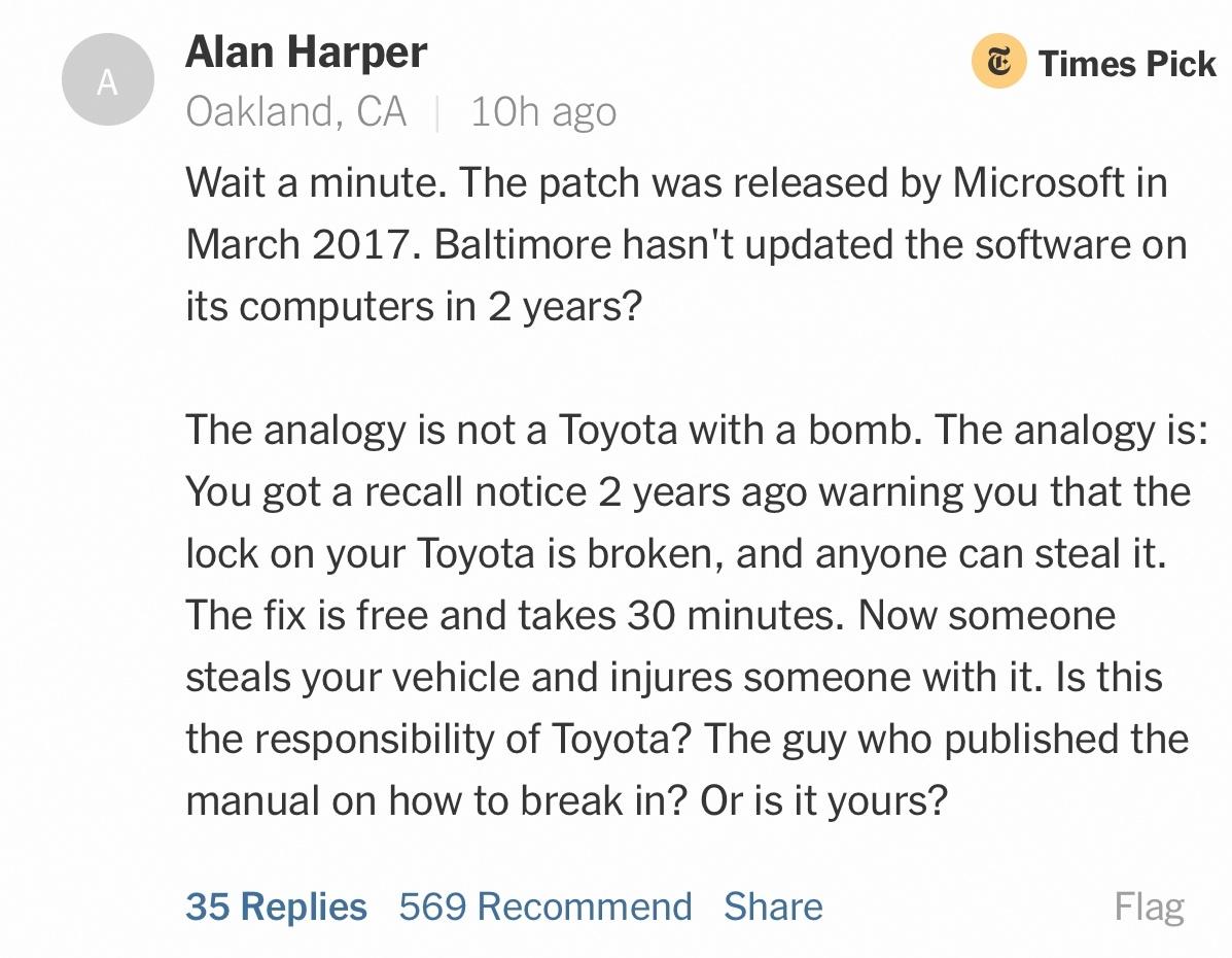 eternalblue ransomware nyt comemment 2