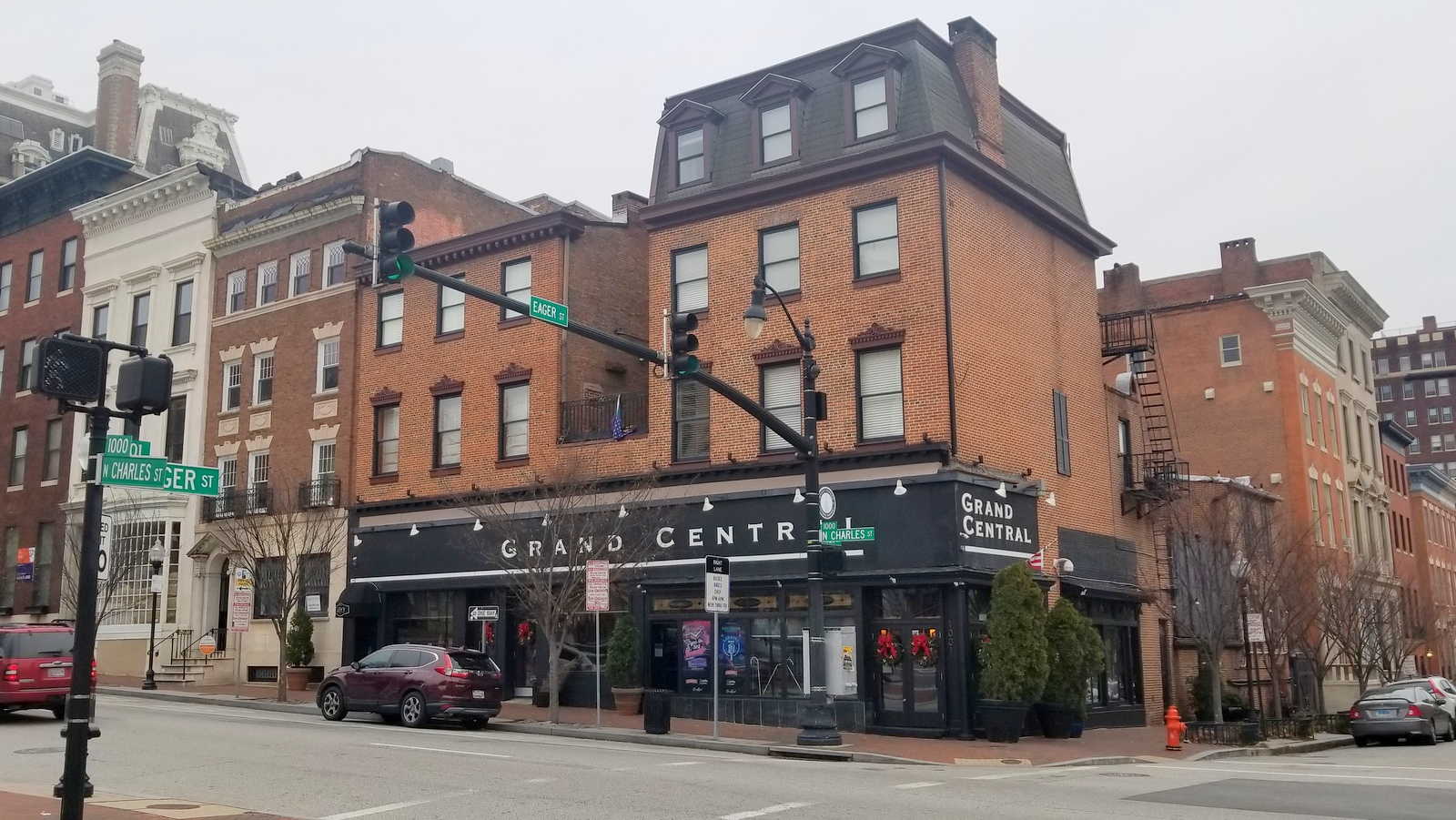 Grand Central, possibly Baltimore's largest gay nightclub, sold earlier this year to a developer. (Ed Gunts)