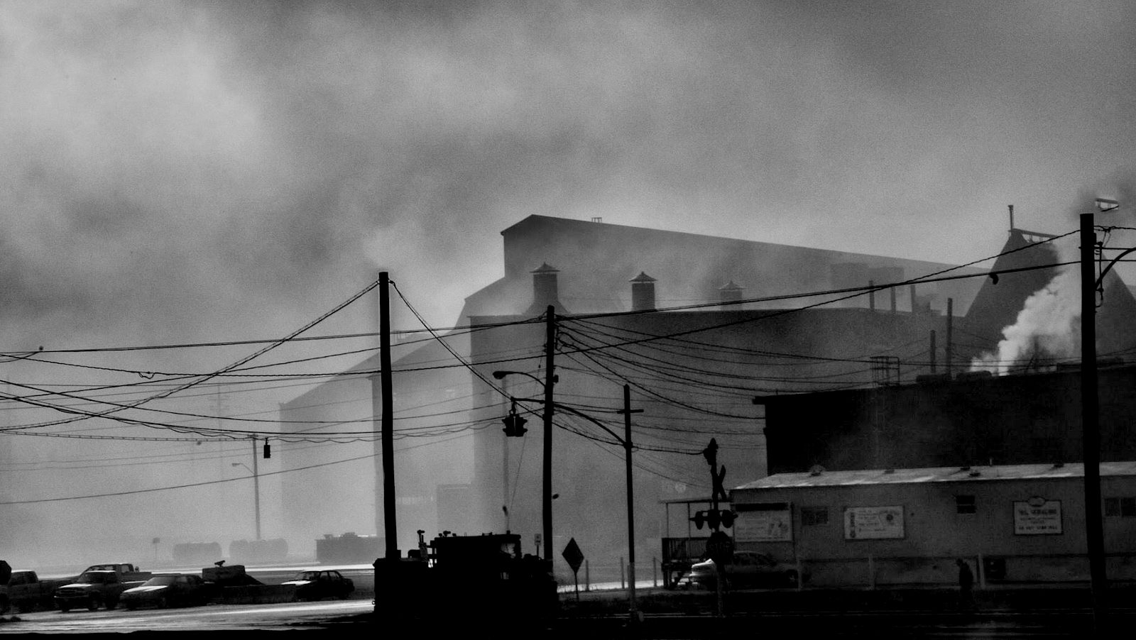 The steelmaking furnaces at Sparrows Point. (J.M. Giordano)