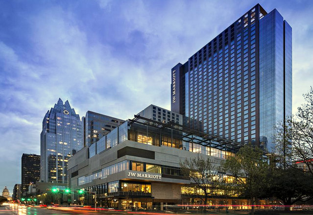 A room at the JW Marriott Austin cost up to $512 a night, or double the subsistence rate for government employees. (Marriott)